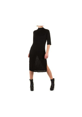 SHK MODE Dames Jurk van Shk Mode one size - zwart