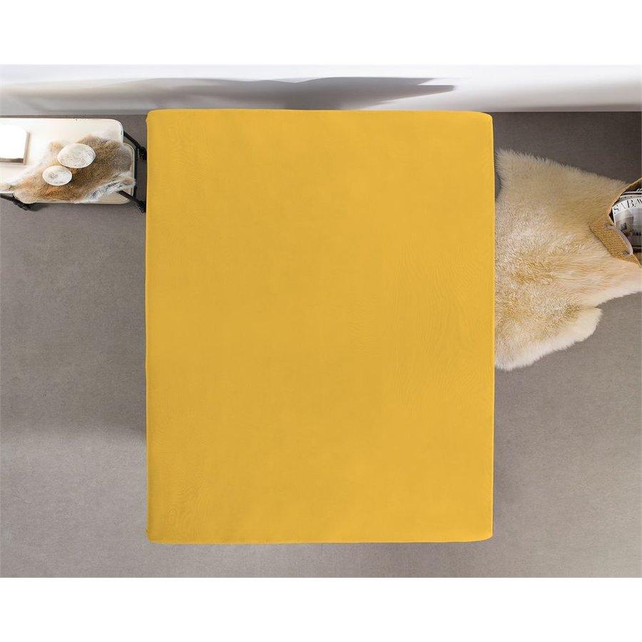 Hoeslaken Dubbel Jersey 220 gr. Yellow