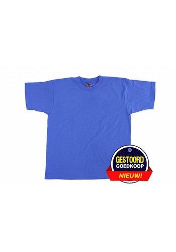 Neckermann T-shirt unisex voor kinderen licht-blauw