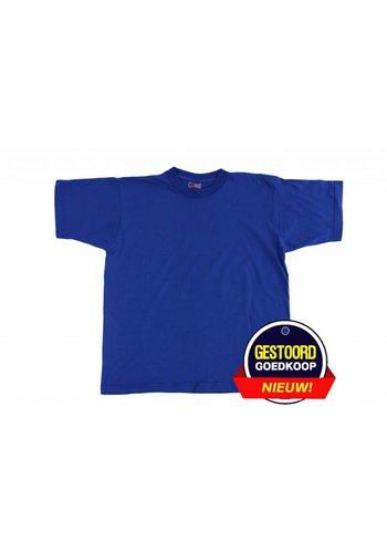 Neckermann T-shirt unisex voor kinderen kobaltblauw