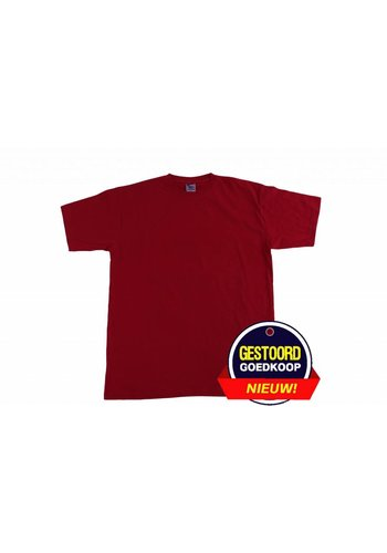 Neckermann T-shirt heren bordeaux