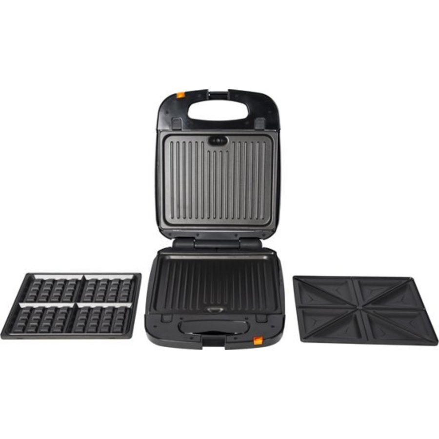 3-in-1 Snackmaker XXL - contactgrill