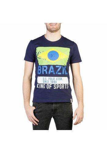 U.S. Polo Tee-shirt pour homme de US Polo - bleu