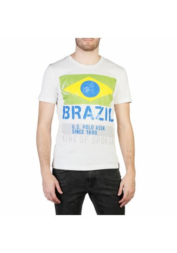 U.S. Polo Heren T-shirt van U.S. Polo - wit