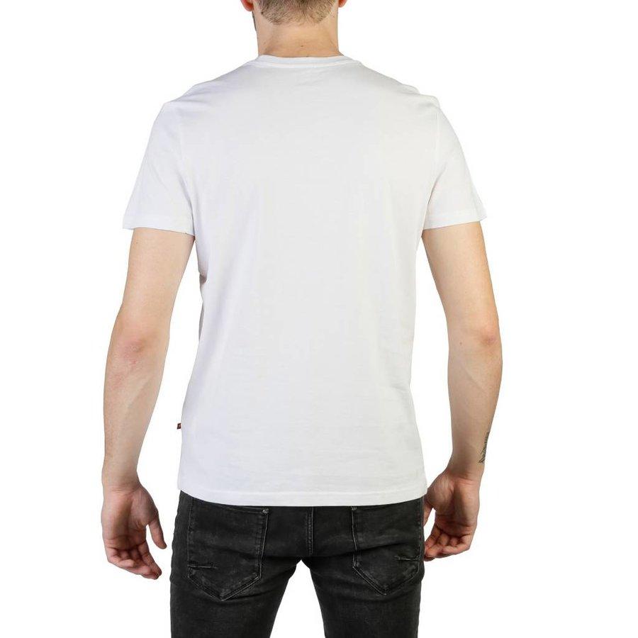 Heren T-shirt van Big Star GARRIC - wit
