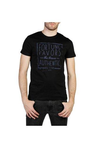 Big Star Heren T-shirt van Big Star GARRIC - zwart