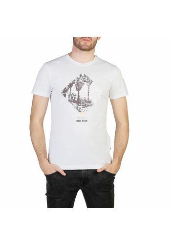 Big Star Heren T-shirt van Big Star CLIDRO - wit