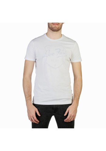 Big Star Heren T-shirt van Big Star CARDAN - wit