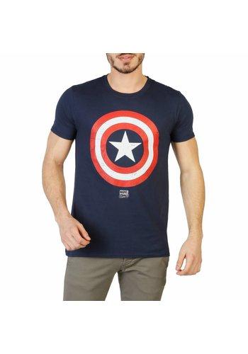 Marvel Heren T-Shirt van Marvel - blauw