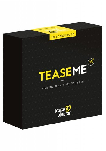 Tease & please TeaseMe in 10 languages