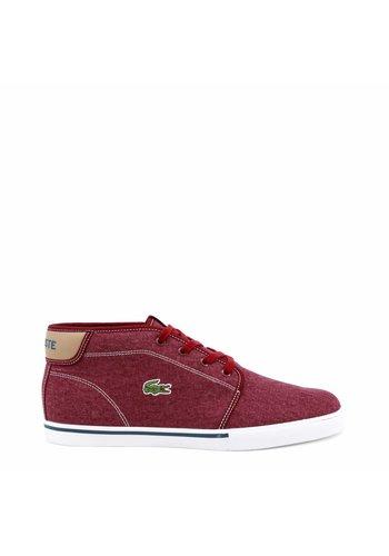 Lacoste Sneaker Homme par Lacoste - rouge