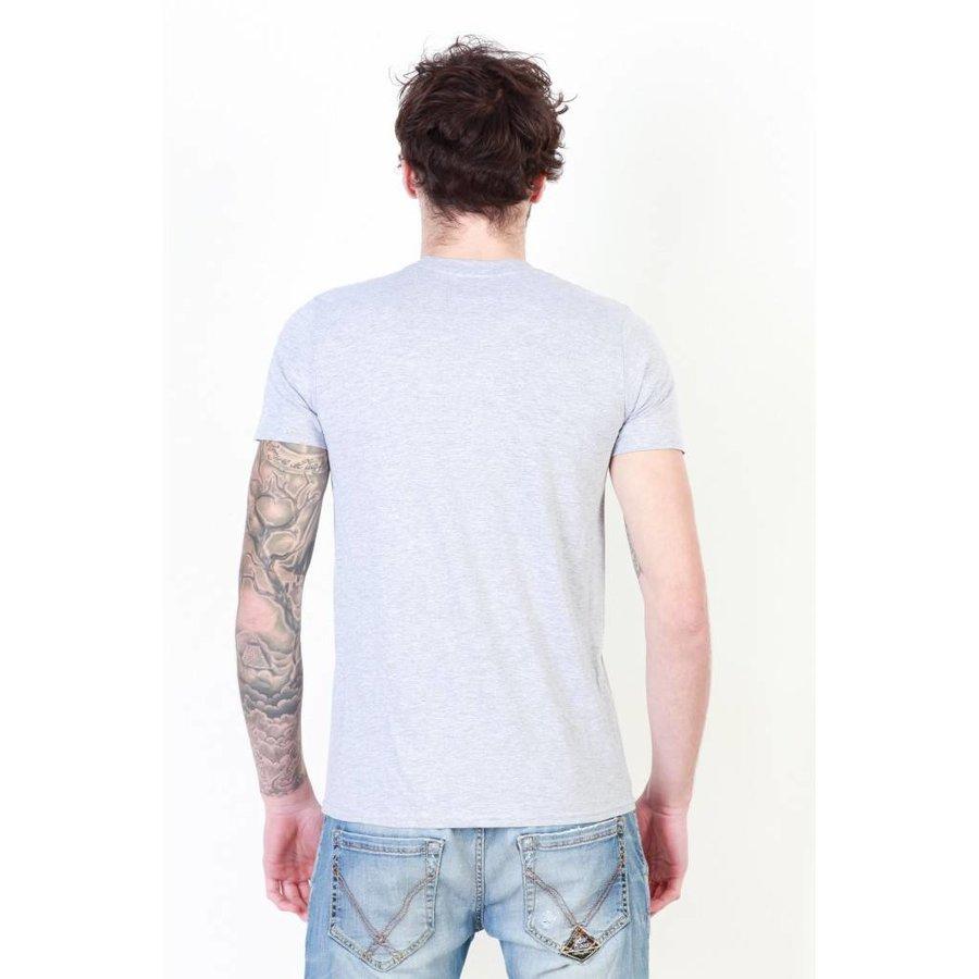 Männer T-Shirt von Zoo York - grau