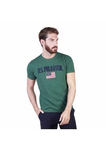 U.S. Polo Heren T-shirt van U.S. Polo - groen