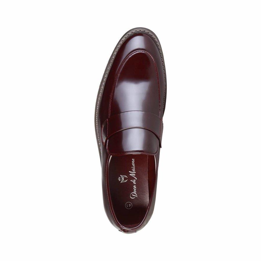 Herren Slip-on von Duca di Morrone ANDY - rot-braun