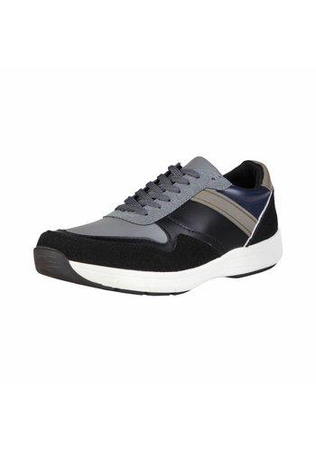 Duca di Morrone Heren Sneaker van Duca di Morrone DEREK - zwart