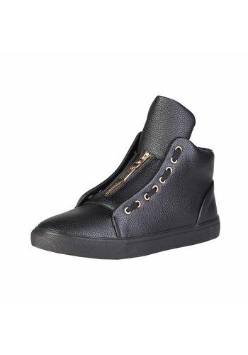 Duca di Morrone Heren Sneaker van Duca di Morrone DUSTIN - zwart