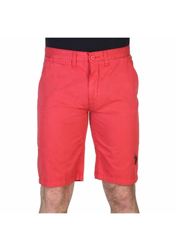 U.S. Polo Heren Short van U.S. - rood