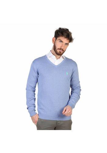 U.S. Polo Heren Pullover van U.S. Polo - blauw