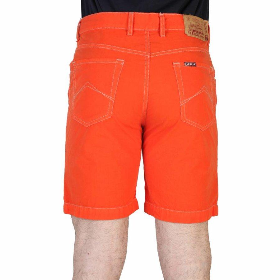 Kurze Herrenjeans von Carrera - orange