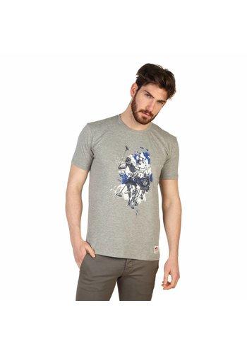 U.S. Polo Heren T-shirt van U.S. Polo - grijs