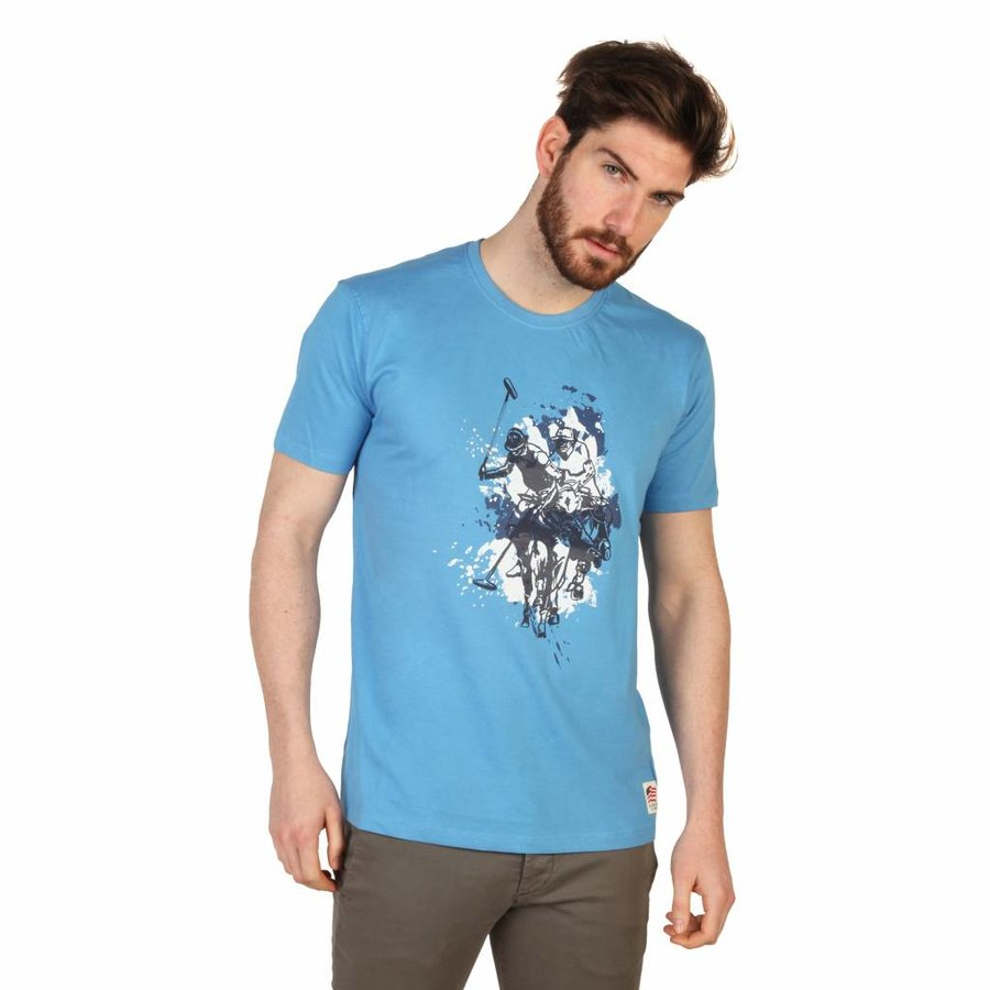 Männer T-Shirt von US Polo - blau