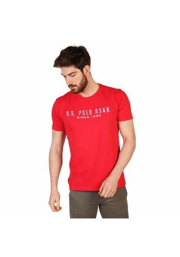 U.S. Polo Heren T-shirt van U.S. Polo - rood