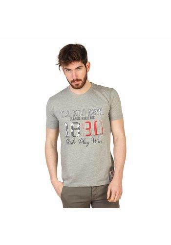 U.S. Polo Heren T Shirt van U.S. Polo - grijs