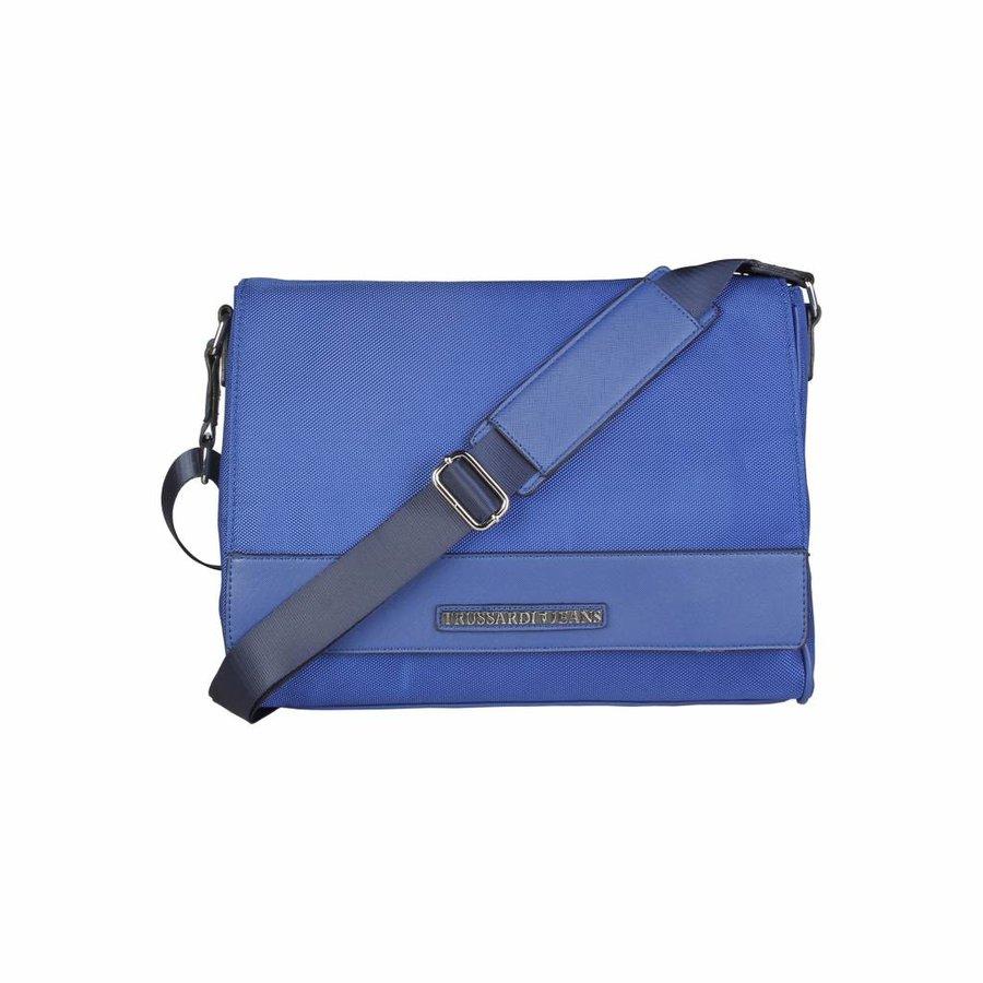Herren Schultertasche von Trussardi - blau