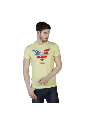 Trussardi Heren T-shirt van Trussardi - geel