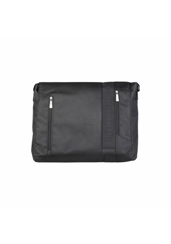 Trussardi Trussardi laptoptas - zwart