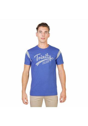 Oxford University Heren T-Shirt van Oxford University TRINITY-VARSITY-MM - blauw