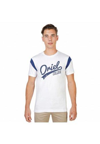 Oxford University T-shirt pour hommes de l'Université d'Oxford ORIEL-VARSITY-MM blanc