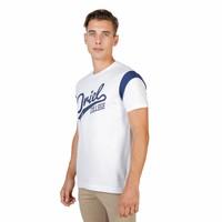 Männer T-Shirt von der Universität Oxford ORIEL-VARSITY-MM weiß