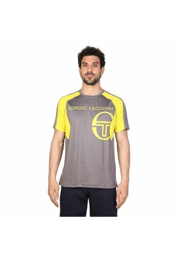 Tacchini Männer T-Shirt von Tacchini - grau / gelb