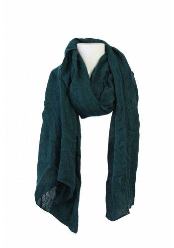 Romano Dames sjaal groen geweven