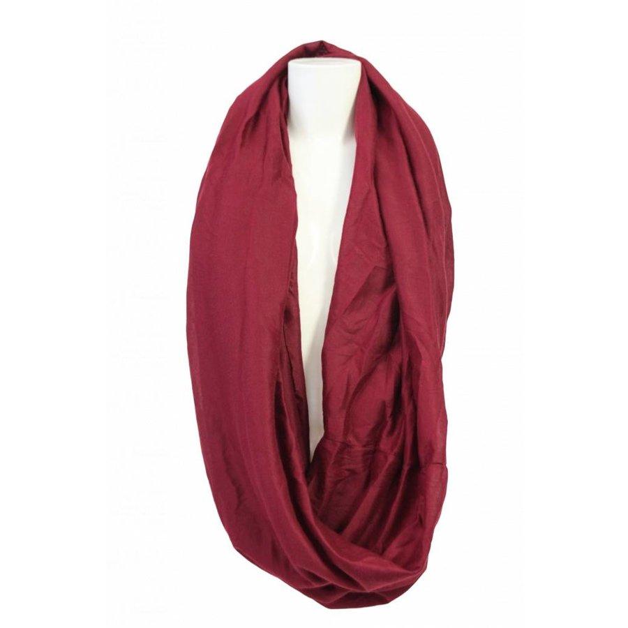 Damen Schal Bordeaux