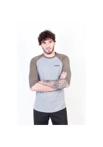 Seventy Seven Männer T-Shirt von Seventy Seven - grau / taupe