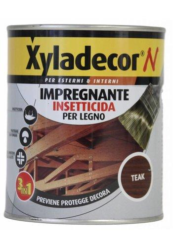 Xyladecor Xyladecor N Holz Insektizid Imprägnierfarbe Teak 750ML