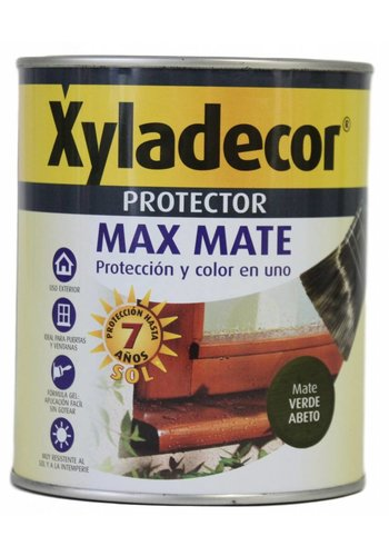 Xyladecor Hout protector - Max Mate - groene spar - 750 ml