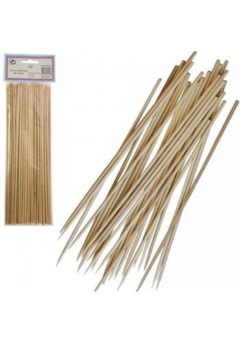 Neckermann Satéprikkers van hout  25cm 80 stuks