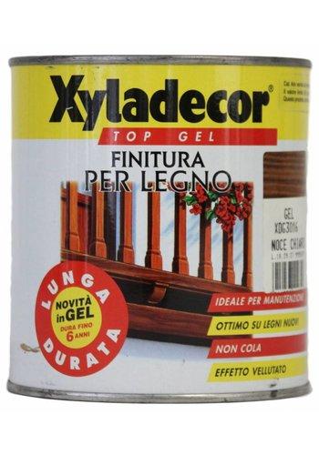 Xyladecor XYLADECOR TOP GEL voor hout, kleur Lichte walnoot 750ML