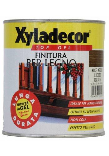 Xyladecor Top gel voor hout - glanzende walnoot - 750 ml