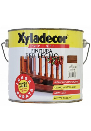 Xyladecor XYLADECOR TOP GEL für Holz, Farbe hell Nussbaum 2,5L