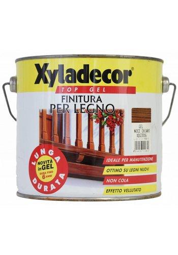 Xyladecor XYLADECOR TOP GEL voor hout, kleur lichte walnoot 2,5L