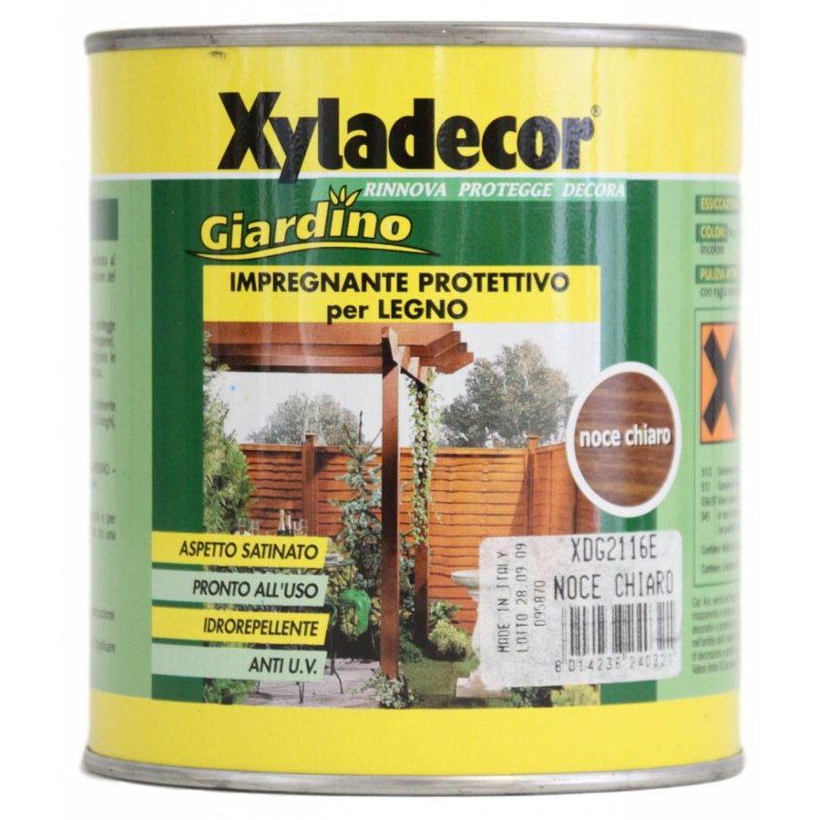 Hout impregneermiddel - Lichte Walnoot - 750 ml