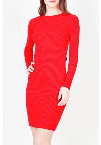 Pinko Ladies Dress par Pinko - rouge