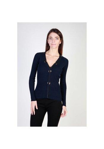Cavalli Class Damen Sweater von Cavalli Class - blau