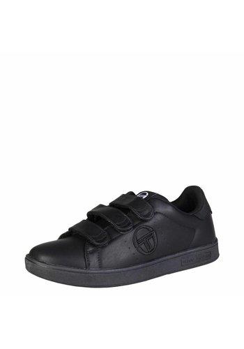Tacchini Herren Sneaker von GRANTORINO VELCRO - schwarz