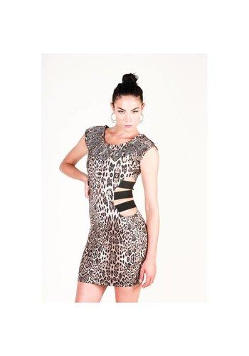 Philipp Plein Damen Kleid von Philipp Plein - Leopard