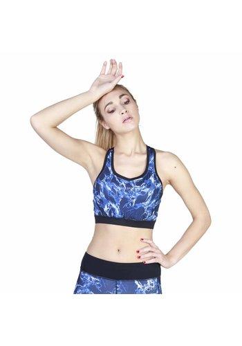 Elle Sport Dames Top van Elle Sport - blauw